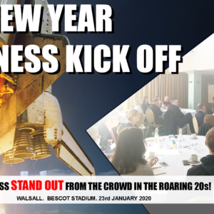 New years business kick off with andy hemming and lewis haydon business coach west midlands black country