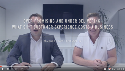 Over Promising and Under Delivering — What Shit Customer Experience Costs a Business LEwis Haydon Andy Hemming Executive Coach West Midlands UK