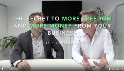 Episode 47 The Secret to More Freedom and More Money From Your Business Andy Hemming and Lewis Haydon Business Coach Walsall Worcester