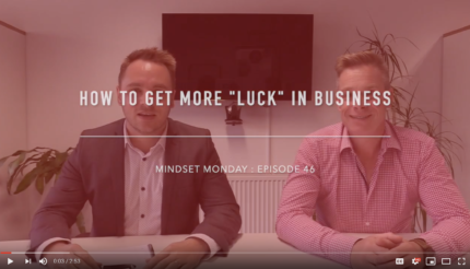 How to get more lucky in your business Business Friday Review with Andy Hemming and Lewis Haydon Business Coach West Midlands Birmingham UK