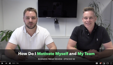 How to motivate your employee team business coaching with lewis haydon and andy hemming engagement west midlands