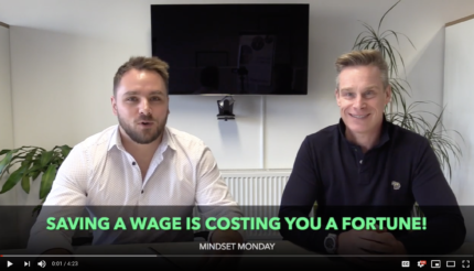 Lewis Haydon and Andy Hemming Mindset Monday podcast business coaching west midlands