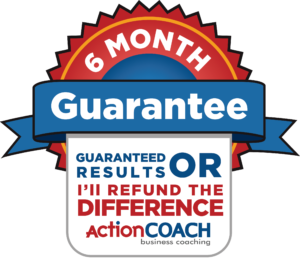 6 Month Guarantee Logo Business Coach in the West Midlands